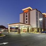 Twilight Exterior at Hampton Inn & Suites Downtown Springfield, MA